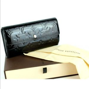 LOUIS VUITTON Sara Amarante Long Wallet